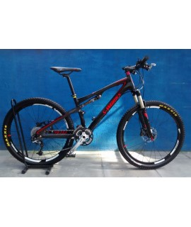 BICICLETA SPECIALIZED EPIC S-WORKS FULL A26 SEMI NOVA