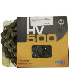 CORRENTE KMC HV500 MTB FINA INDEX 1/2X3/32