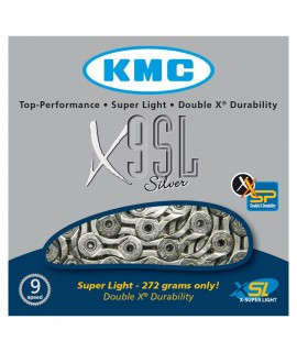 CORRENTE KMC X9VL LIGHT 116L